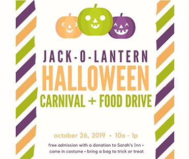 Jack-O-Lantern Halloween Carnival & Food Drive at The Lantern Haus