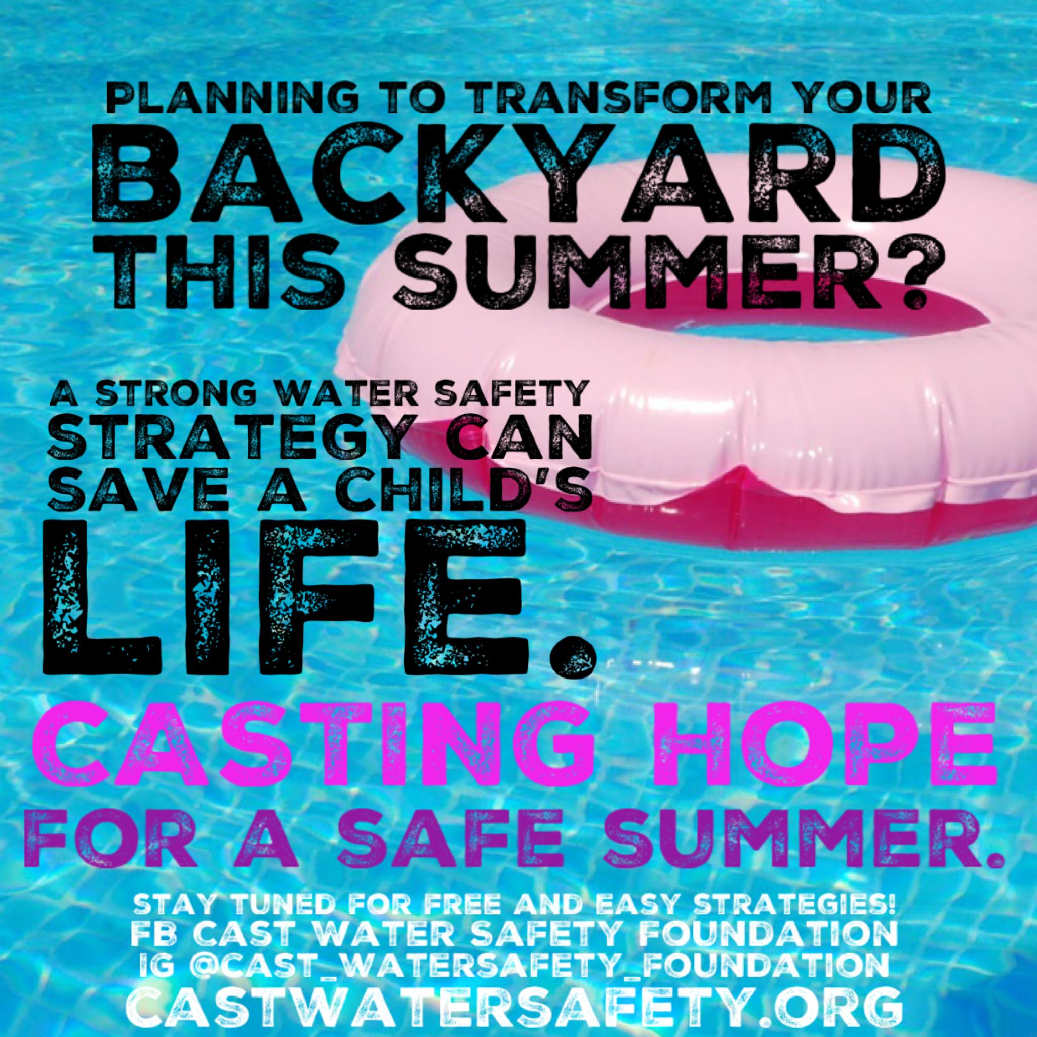 CASTing Hope For a Safer Summer!